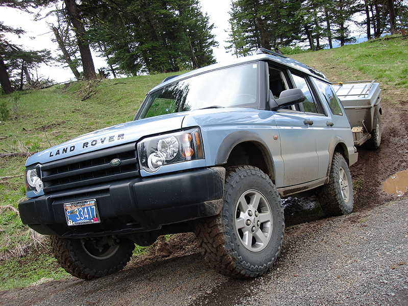 You can find information about our 2003 Land Rover Discovery, 2004 Tentrax
